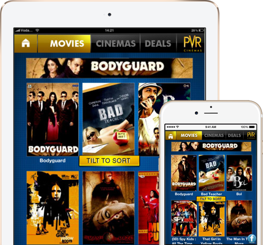PVR Cinemas - iPhone & IPAD